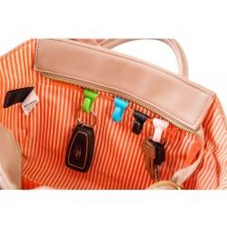 Mini bag clip - key holder hook 2 pcs