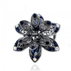 Kryształowy kwiat - spinka do włosów
