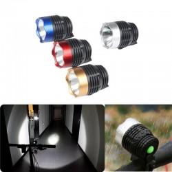 Q5 LED - 3 modos - lámpara delantera de bicicleta - resistente al agua - batería incorporada