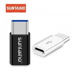 USB C auf Micro USB Adapter - OTG Kabel Typ C Wechselrichter 3 Stück