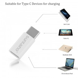 USB C to micro USB adapter - OTG cable type-C converter 3 pcs