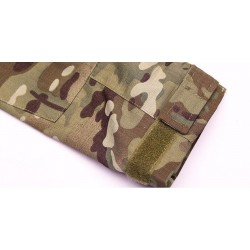 Tactical - military camouflage - men's T-shirt with long sleeve