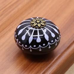 Porte en céramique - poignée de tiroir - bouton