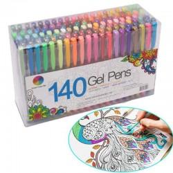 2448 FAI DA TE Fluorescente Gel Dipinti Colorati Disegno A Penna Spazzole Partito Ricariche Acquere