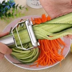 Wielofunkcyjna obieraczka do warzyw ze stali nierdzewnej