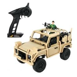 MN96 1/12 2.4G samochód proporcjonalny RC 4WD z oświetleniem LED - wspinaczka terenowa - RTR