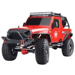 RGT EX86100 PRO zestaw 1/10 2.4G 4WD - gąsienicowa wspinaczka elektryczna - samochód RC - bez części elektronicznych