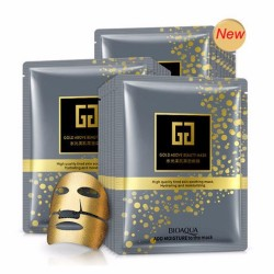 BIOAQUA Gold - hydrating - moisturising face mask
