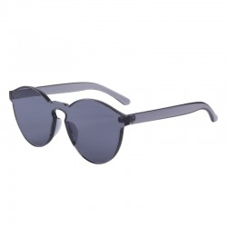 Transparent - plastic sunglasses - unisex