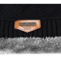 Ciepła zimowa bawełniana czapka