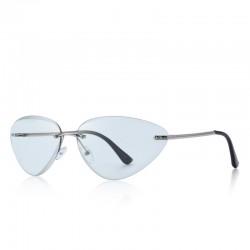 Cat eye - okulary przeciwsłoneczne bez oprawek - UV400