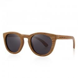 Retro - handgemachte Holzsonnenbrille - Unisex