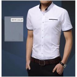Elegancka koszula z krótkim rękawem