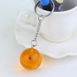 Kulka z gwiazdą - brelok do kluczy