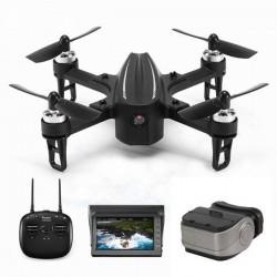 Eachine EX2mini Brushless 5.8G FPV - RC Drone Quadcopter RTF - Z kamerą + Monitor FPV + Okulary - Tryb 2 (lewa przepustnica)