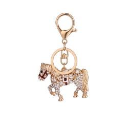 Kryształowy koń - brelok do kluczy