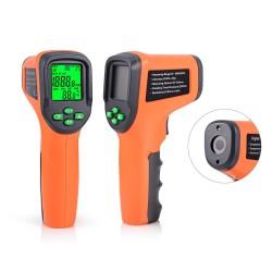 FOSHIO 10-99999 RPM - tacómetro láser digital - velocímetro fotoeléctrico para automóvil sin contacto