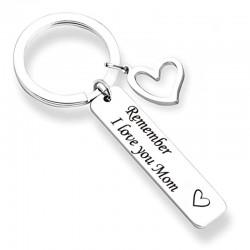 Remember I Love You Mom & Dad - brelok do kluczy