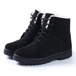 Botas femininas femmes bottes 2018 nouveaut femmes bottes dhiver bottes de neige chaudes mode plat