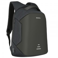 Anti theft backpack with USB charging - waterproof