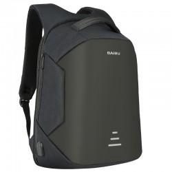 Plecak zabezpieczający przed kradzieżą z ładowaniem USB - wodoodporny