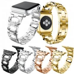Crystal diamond bracelet - strap for Apple Watch 1-2-3 / 42mm-38mm stainless steel