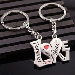 Forever Love You - brelok do kluczy 2szt