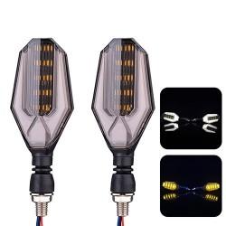 Luces de señal de giro de motocicleta LED de 12V - indicadores súper brillantes 2 piezas