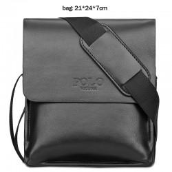 Casual POLO waterproof crossbody leather bag