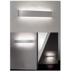 Modern aluminum LED wall lamp