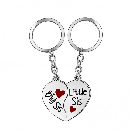 Big Sister & Little Sister - keychain 2 pcs