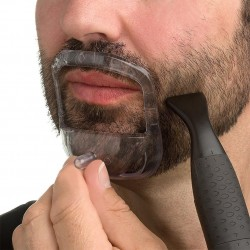 BellyLady 5 stksset Mannen 5 Maten Baard Care Grooming Kit Beard Modeling Tool met Opbergtas