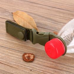 Crochet à boucle en nylon militaire - porte bouteille d'eau