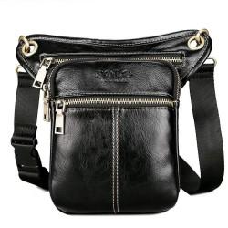 Skórzana torba POLO na ramię & talię & udo