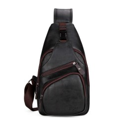 Fashion POLO shoulder bag - leather backpack