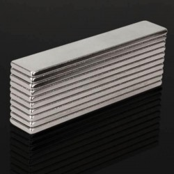 N48 super strong neodymium magnet 50 * 10 * 2mm - block 10pcs