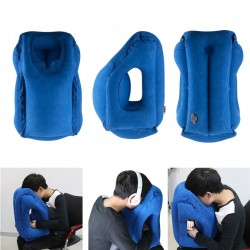 Multi-function inflatable soft cushion - portable travel pillow