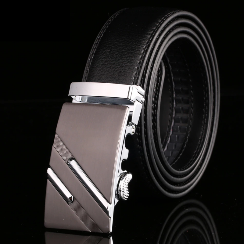 Luxury genuine leather belt