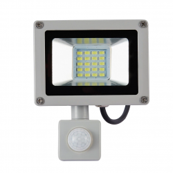10W 20W Refletor LED Flood Light Searchlight With Pir Motion Sensor