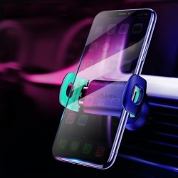 Support pour tlphone USAMS pour iphone 8 7 6 Support pour voiture prise dair rglable Support p