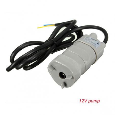 Water Pump Hot Salable 12V DC 1.2A 5M 600L/H 6-12V For solar Aquarium