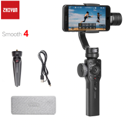 Zhiyun Liscia 4 Q 3-Assi Handheld Smartphone Cardano Stabilizzatore per il iphone XS XR X 8 Pi di 8