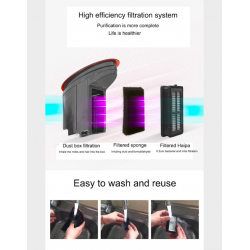 Handheld vacuum cleaner - mini UV sterilizer