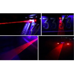 Car Laser Fog Warning Light