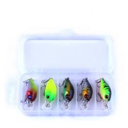 Kit esche artificiali per esche per pesci con gancio 42g 5 pezzi