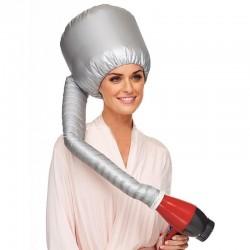 Hair drying hood for hair dryer