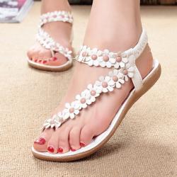 Cuculus 2019 Frauen Sandalen Sommer Stil Bling Bowtie Mode Peep Toe Gelee Schuhe Sandale Flache Schu