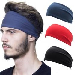 El ms nuevo 1 PC absorbente bandas de pelo de los hombres y las mujeres los hombres Sweatband diade