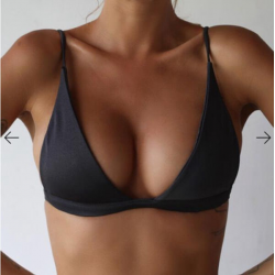 2017 nouveau Bikini Sexy femmes maillot de bain taille haute maillots de bain bain licou Push Up Bik