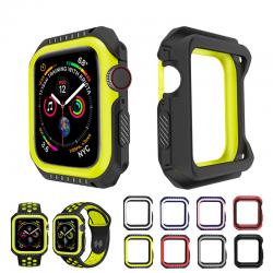 Funda de silicona y armadura dura para Apple Watch 1-2-3-4-5